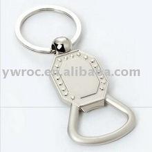 bottle opener metal key chain Zinc Alloy