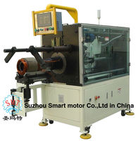 Automatic Induction motor Stator Coil Winding Insert machine