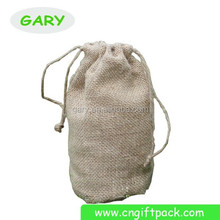 best quality jute bag with zipper /drawstring /string