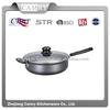 carbon steel saute pan with two handle