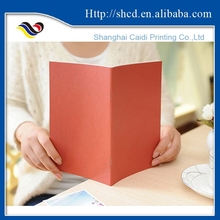 cute design paperback diary notebook for student