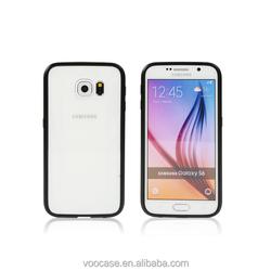 2015 Classic Black New Aluminum Mobile Phone Case Bumper for Samsung Galaxy S6