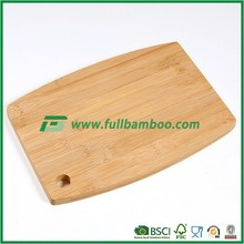 FB2-1161 Eco-Friendly Strong Bamboo Wood Cutting Board/Bamboo chopping board with hole