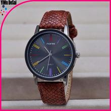 individuality watch Fashion vintage snakeskin grain Simple calibration quartz watch
