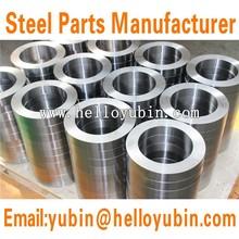 OEM shaft sleeve bushing, SS304/SS316 CNC machining parts, CNC forging shaft sleeve