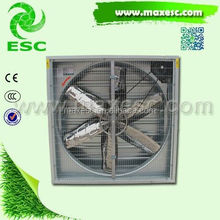 Axial high strength roof ventilation ventilation fan for poultry house
