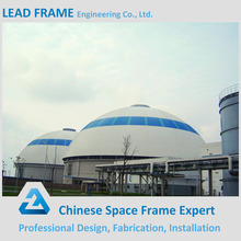 Galvanized Roof Truss Steel Construction for Coal Storage