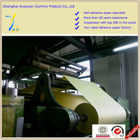 one side coated adhesive paper
