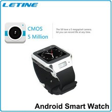 MTK6577 Dual Core Android 4.0 Watch 3G Wifi Smart Watch Phone