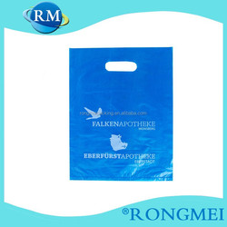 Cheap LDPE Black and white Gravure printing Plastic bag