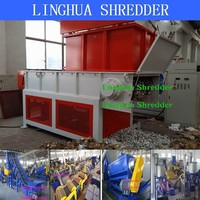 50kg used tires crusher machines easy for cleaning