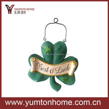 China supplier Newest Metal Easter decorations for Saint Patrick's Day