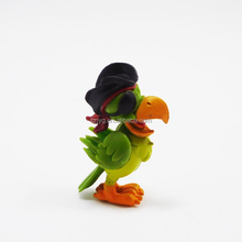 Soft Cute Small Toys Birds Small Animals Plastic Toys Plastic Pirate Parrots Toys