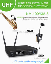 Low Price Wireless Saxophone Microphone For Professional Music Performance Stage