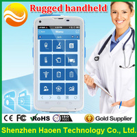 5 Inch Rugged Smart Phone for Hospital Application Waterproof Handheld PDA with Corning Gorilla Glass 2D Laser Barcode Scanner