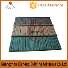 Storm and wind resistance stone coated tile roofing