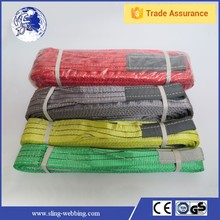 Promotional CE&GS Approved safe lift polyester webbing sling