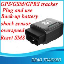 Mini Vehicle GPS Tracker with Free web platform and GPRS protocol, Installation So simply
