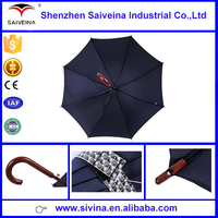 All kind of color manual open wooden handle uv coating parasol supplier