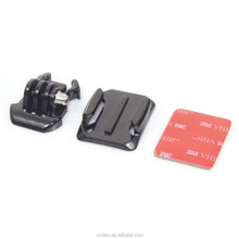 Gopros adhesive mount with 3M pads, gopro adapter, action camera accessories