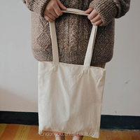 Fashion Shoulder Cotton Shopping Bag Large Canvas Shopping Bag Blank