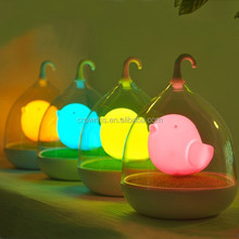 Color changing touch lamp birdcage lamp Home decorative home art lamp