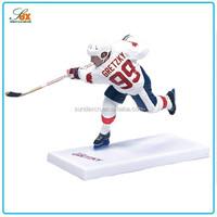 Designer professional resin hockey player figurines