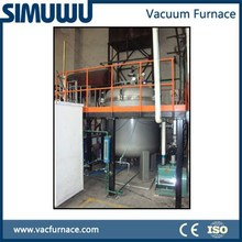 gas protection Continuous vacuum induction melting furnace