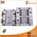 fabricante chino de zinc de fundición a presión de múltiples cavidad de bloqueo pin n33 fabricación de moldes riel de la cremallera