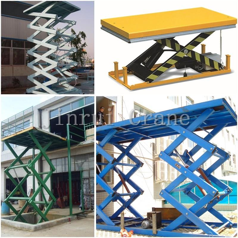 Stationary In Floor Scissor Lift Platform For Wheelchair