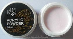 Nail paint product pink acrylic powder for nail decoration