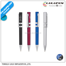 Twin Silver Rings Ballpoint Promotional Pen (Lu-Q84804)