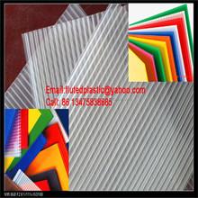 Polypropylene corrugated plastic greenhouse panels