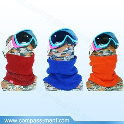 Winter Multi Ski Skateboard Cycle Gaiter Snood Hat