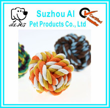 Knots Large Cotton Rope Strengthen Teeth Ball Dog Puppy Pet Chew Dog Toy