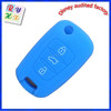 Promotional 3 botton cover whole sale with logo silicone car key remote case for Hyundai