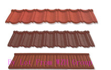 residential steel and metal roofing with netural stone coated