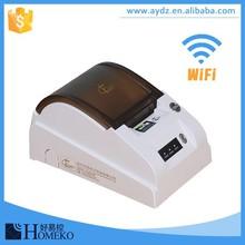FC168 docking API port wifi portable barcode printer for takeaway website
