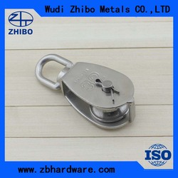china hot selling swivel pulley block chain block