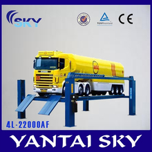 2015 hot sale heavy duty four post car lift