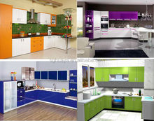 Modern Design with wooden colors kitchen Cabinet,luxury style kitchen furniture