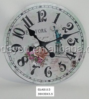 unique design wall clock for home decor