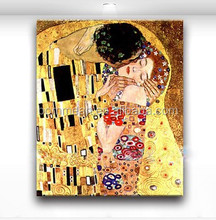 Abstract oil painting Kiss King and Queen home office hotel decoration canvas painting picture