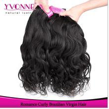 Grade 4a virgin remy brazilian romance curl human hair
