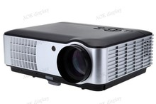 LCD Video Movie Projector HDMI USB, 1280*800 Pixels,1080i/p Compatible, Game TV Home Theater, Black, US Support