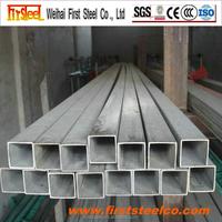 Prime quality square iron pipe, black iron square tube, square tube iron fence