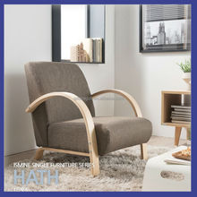 good quality and cheap birch bent plywood living room sofa or armchair