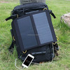 13watt full black solar charger bag for mobile and ipad