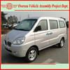 Euro IV Standard 8 Seats Gasoline Engine A/C Jinbei Mini Van