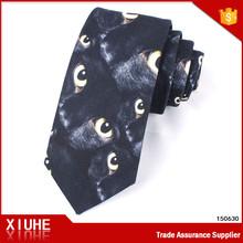 2014 latest fashion Promotional Handmade tie mens alien/Custom made tie mens alien